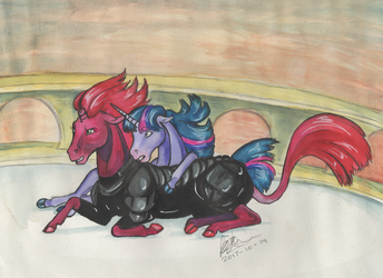 Tempest and Twilight by SagaStuff94
