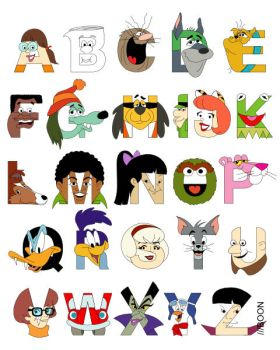 Child of the 70s Alphabet by mbaboon