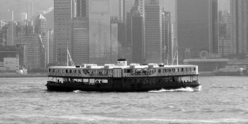 star ferry running by ShinzonRemus