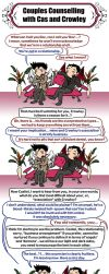 SPN: Couples Counselling by blackbirdrose