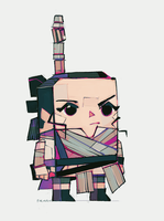 Rey-a-Day 66 Blockish by michaelfirman