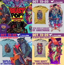 GhostHause on Teefury! by GhostHause