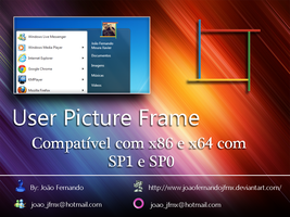 User Picture Frame - 4Colors by JoaoFernandoJFMX