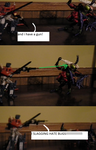 Optimus prime  vs Predacon Scourage part two by imyouknowwho