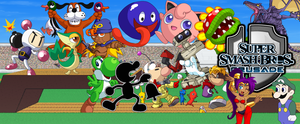 Super Smash Bros. Crusade Background Updated by domobfdi