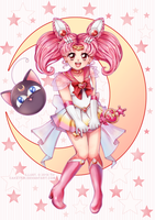 .: Pink Moon Guardian :. by cakeyrin