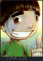 The Nice Guy Pose by Rock Lee by Sekkosiki