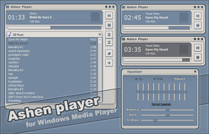 Ashen Player for WMP by iron2000
