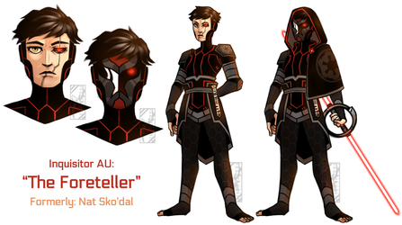 Inquisitor AU by Deer-Head