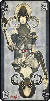 Augen Auf: Ace of Clubs by yuumei