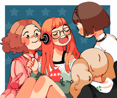 girlsssssssss by ebasaur