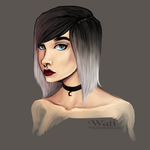 Destiny portrait by Walerinaa