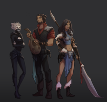 New Crew :D by Rigrena