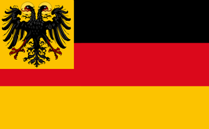 Holy Roman Empire flag in 1861 by 33k7