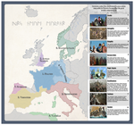 Post roman states and tribes in the 6th century by Arminius1871