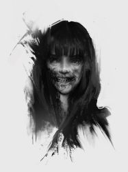 Zombie girl - 6 by Quentinvcastel