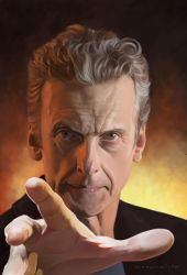The 12th Doctor by markdraws