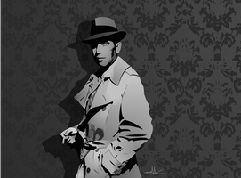 Humphrey Bogart by nkunited
