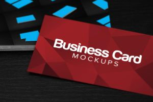 10 Business Card Mockup PSDs by pstutorialsws
