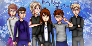Priestley Squad: Happy Holidays by NatalieGuest