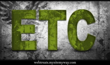 Grungy Green Text Effect by WebTreatsETC