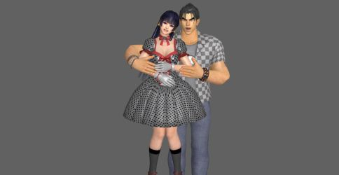 The New Bf And Gf, Jin n NyoTengu. by SkullsKnight
