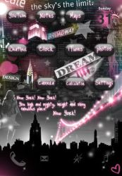 iPhone Themes - New York by Keys2