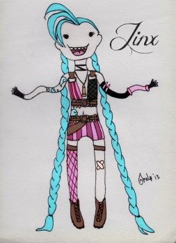 Jinx The Loose Cannon by Melmemoo