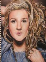 Ellie Goulding by nightmaiden20
