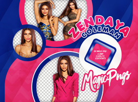 PACK PNG 706|ZENDAYA COLEMAN by MAGIC-PNGS