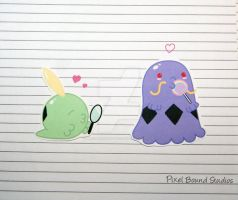 Gulpin/Swalot Stickers and Magnets