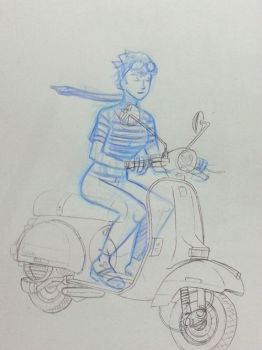 Vespa for fun by didism