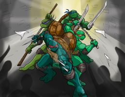 TMNT Color by darlinginc