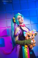 LEAGUE OF LEGENDS [Arcade Sona] 4 by Akaomy