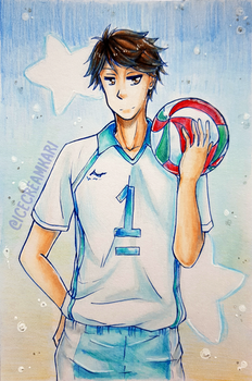 Oikawa Tooru by IceCreamKari