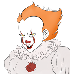 Pennywise the Dancing Clown by deusodemon