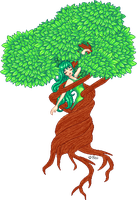 Dryad, Lady of the Forest by StargazerSammie