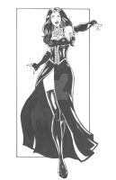 Character Designs: The Vampire Queen by Innocens-Castitate