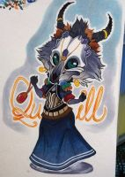 Quill (Commission) by ShyCustis