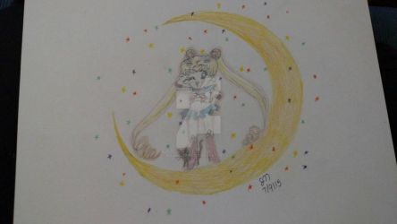 sailor moon by mangalover101