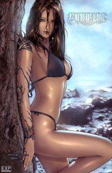 Witchblade swimsuit by Kai-S