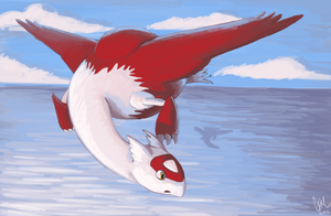 Wuzzat - Latias by DrManiacal