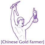 Chinese Gold Farmer by y2hecate