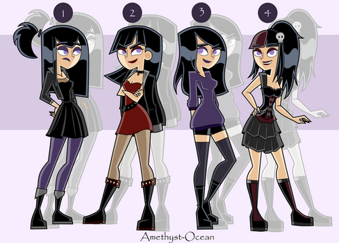 Sam Outfits Part 2 by Amethyst-Ocean