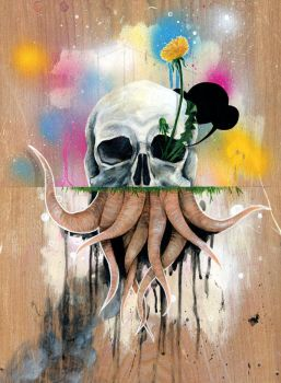 Skull Roots by famouswhendead