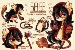 Sage Ref. Sheet [Commission] by Baraayas