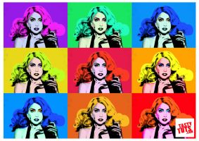 Create a Pop Art Poster -Andy Warhol Style Pop Art by tastytuts