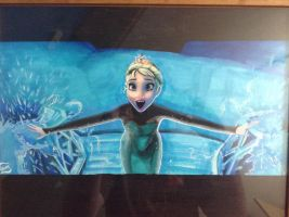 Elsa Screenshot Remake: LET IT GOOOO!! by AlexFentonDesigns