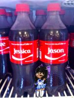 Jessica and Jason Cokes by GamerStunner27