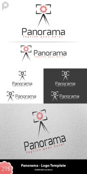 Panorama - Logo Template Design by PixelPuzzel